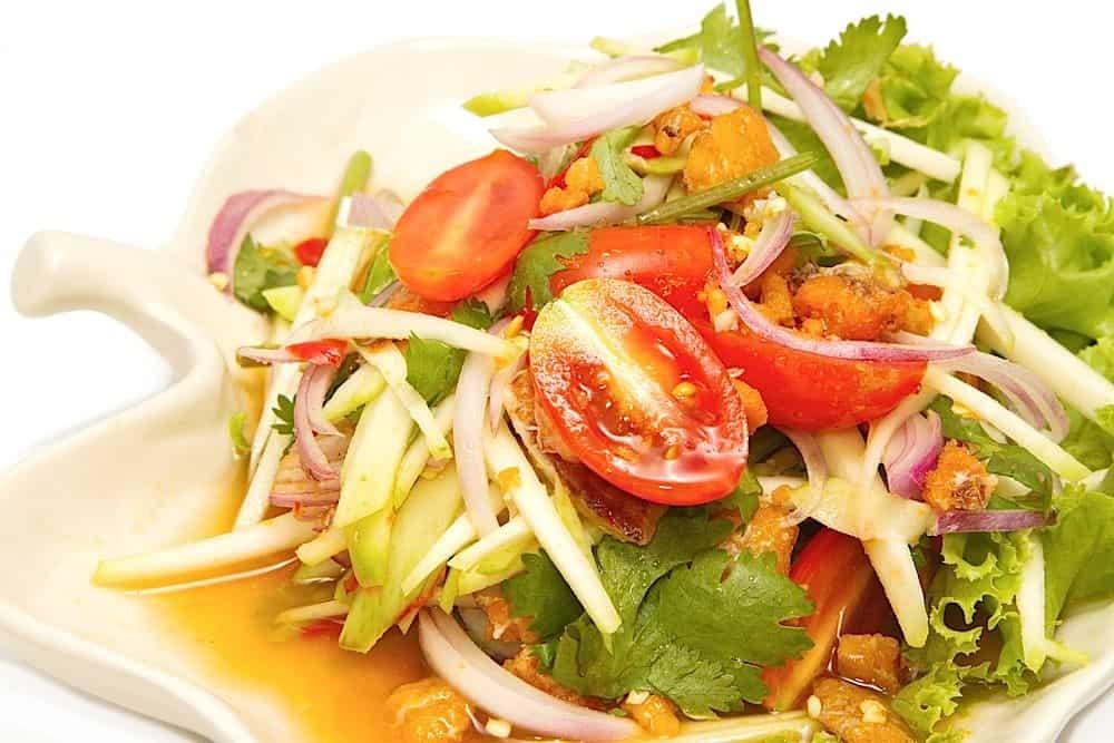 salade-tomate-mangue
